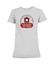 Covered Bridge Trail - Fairfield County Ohio Premium Fit Ladies Tee thumbnail