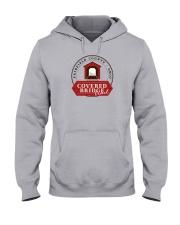 Covered Bridge Trail - Fairfield County Ohio Hooded Sweatshirt thumbnail