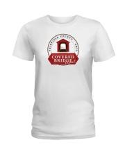 Covered Bridge Trail - Fairfield County Ohio Ladies T-Shirt thumbnail