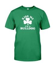 Kiss Me I'm a Bulldog Premium Fit Mens Tee thumbnail