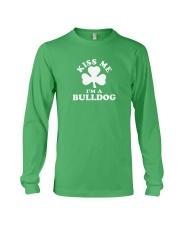 Kiss Me I'm a Bulldog Long Sleeve Tee thumbnail