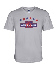 New York Americans V-Neck T-Shirt thumbnail