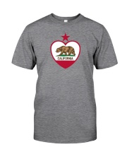 State Flag of California Classic T-Shirt front