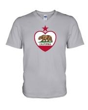 State Flag of California V-Neck T-Shirt thumbnail