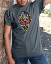 New York - New Jersey MetroStars Classic T-Shirt apparel-classic-tshirt-lifestyle-27