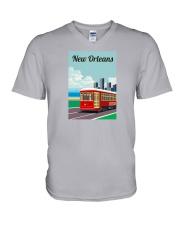 New Orleans V-Neck T-Shirt thumbnail