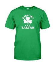 Kiss Me I'm a Tartar Classic T-Shirt front
