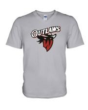 New Jersey - Williamsport Outlaws V-Neck T-Shirt thumbnail