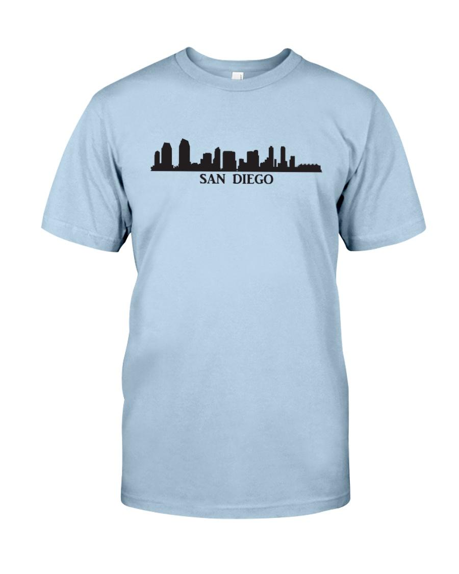 The San Diego Skyline Classic T-Shirt