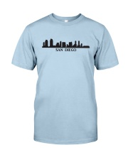 The San Diego Skyline Classic T-Shirt front