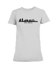 The San Diego Skyline Premium Fit Ladies Tee thumbnail