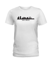 The San Diego Skyline Ladies T-Shirt thumbnail