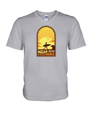 Ocean City - California V-Neck T-Shirt thumbnail
