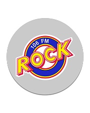 WWCT 106 FM - Peoria Illinois Circle Coaster thumbnail