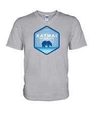 Katmai National Park - Alaska V-Neck T-Shirt thumbnail