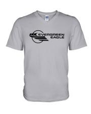 Evergreen International Airlines V-Neck T-Shirt thumbnail