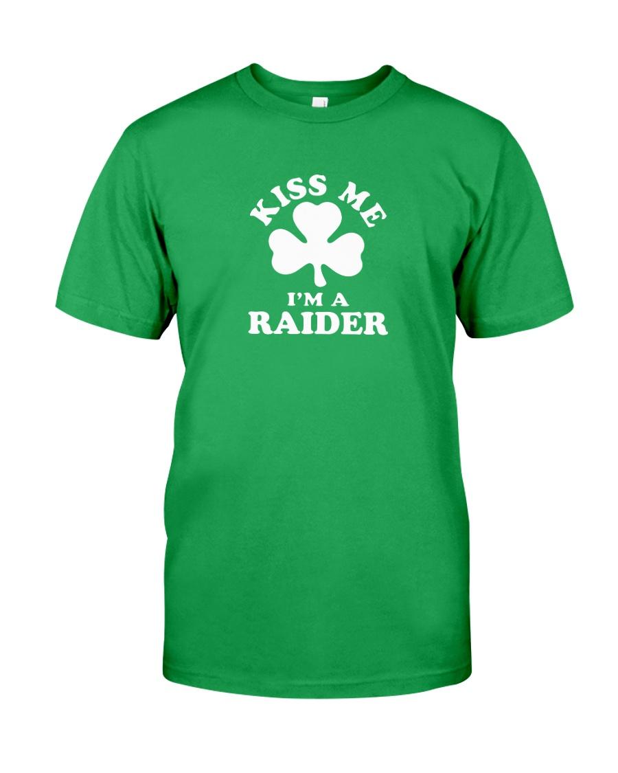 Kiss Me I'm a Raider Classic T-Shirt