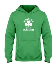 Kiss Me I'm a Raider Hooded Sweatshirt thumbnail