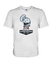Geri's Hamburgers V-Neck T-Shirt tile