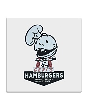 Geri's Hamburgers Square Coaster tile