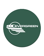 Evergreen International Airlines Circle Coaster thumbnail