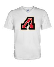 Adirondack Flames V-Neck T-Shirt tile