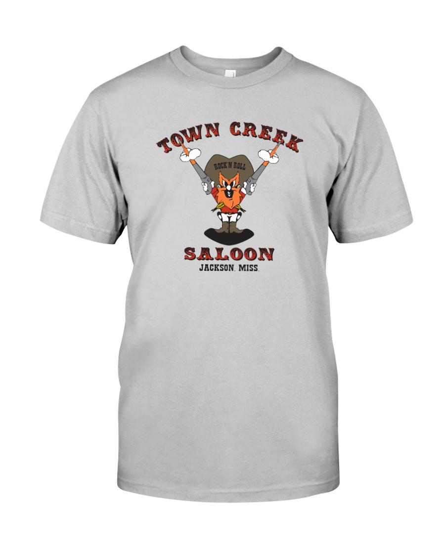 Town Creek Saloon - Jackson Mississippi Classic T-Shirt