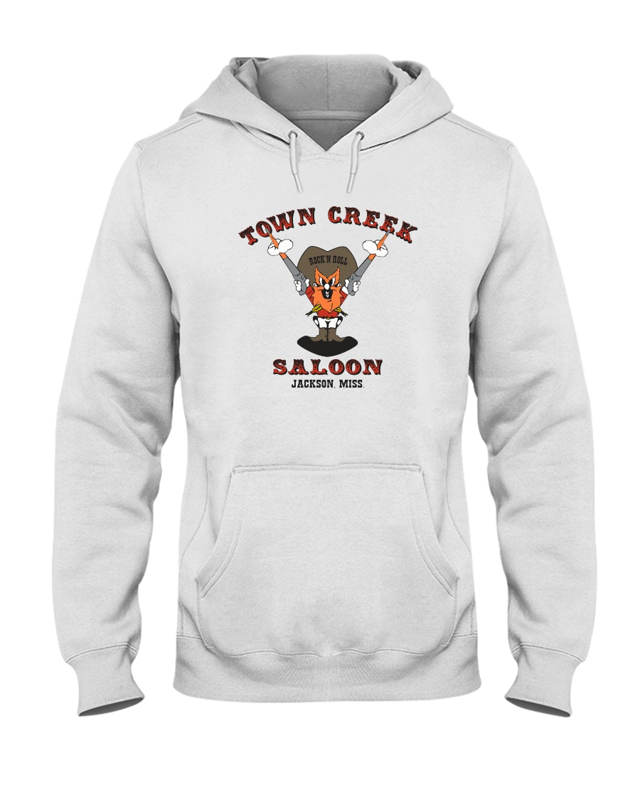 Town Creek Saloon - Jackson Mississippi Hooded Sweatshirt