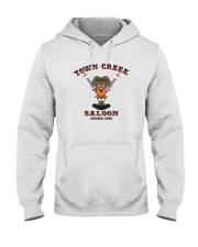 Town Creek Saloon - Jackson Mississippi Hooded Sweatshirt front