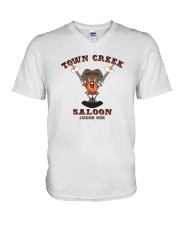 Town Creek Saloon - Jackson Mississippi V-Neck T-Shirt thumbnail