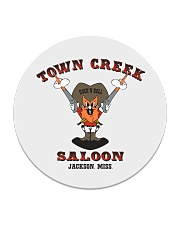 Town Creek Saloon - Jackson Mississippi Circle Coaster thumbnail
