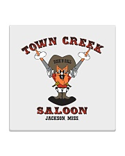 Town Creek Saloon - Jackson Mississippi Square Coaster thumbnail