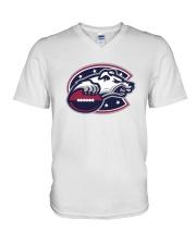 Columbus Wardogs V-Neck T-Shirt thumbnail