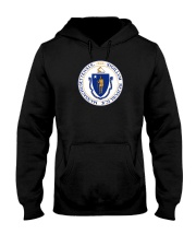 Great Seal of the State of Massachusetts Hooded Sweatshirt thumbnail