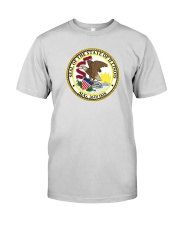 Great Seal of the State of Illinois Premium Fit Mens Tee thumbnail