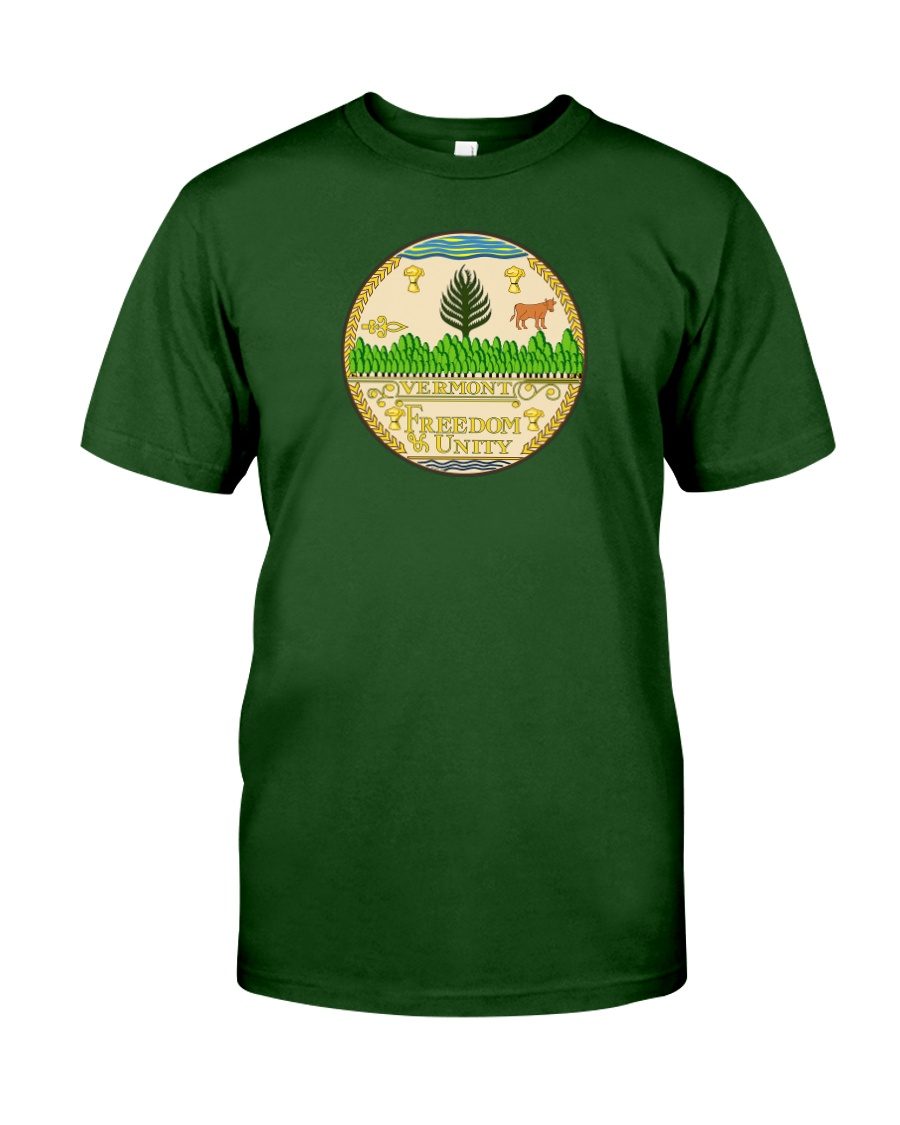 Great Seal of the State of Vermont Classic T-Shirt