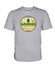 Great Seal of the State of Vermont V-Neck T-Shirt thumbnail