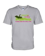Everglades National Park - Shark Valley V-Neck T-Shirt thumbnail