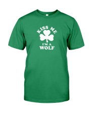 Kiss Me I'm a Wolf Premium Fit Mens Tee tile