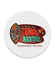 The Bali Hai Tiki Lounge - New Orleans Louisiana Circle Coaster thumbnail
