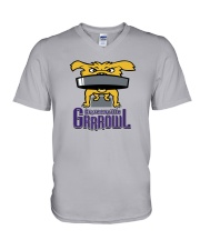 Grrreenville Grrrowl V-Neck T-Shirt thumbnail