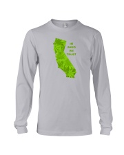 California - In Weed We Trust Long Sleeve Tee thumbnail