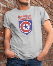 Washington Commandos Classic T-Shirt apparel-classic-tshirt-lifestyle-26
