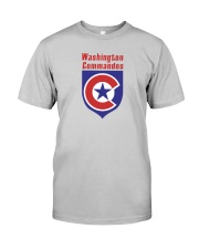 Washington Commandos Classic T-Shirt front