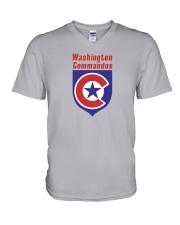 Washington Commandos V-Neck T-Shirt thumbnail