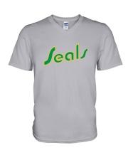 California Golden Seals V-Neck T-Shirt thumbnail