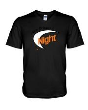 New Orleans Night V-Neck T-Shirt thumbnail