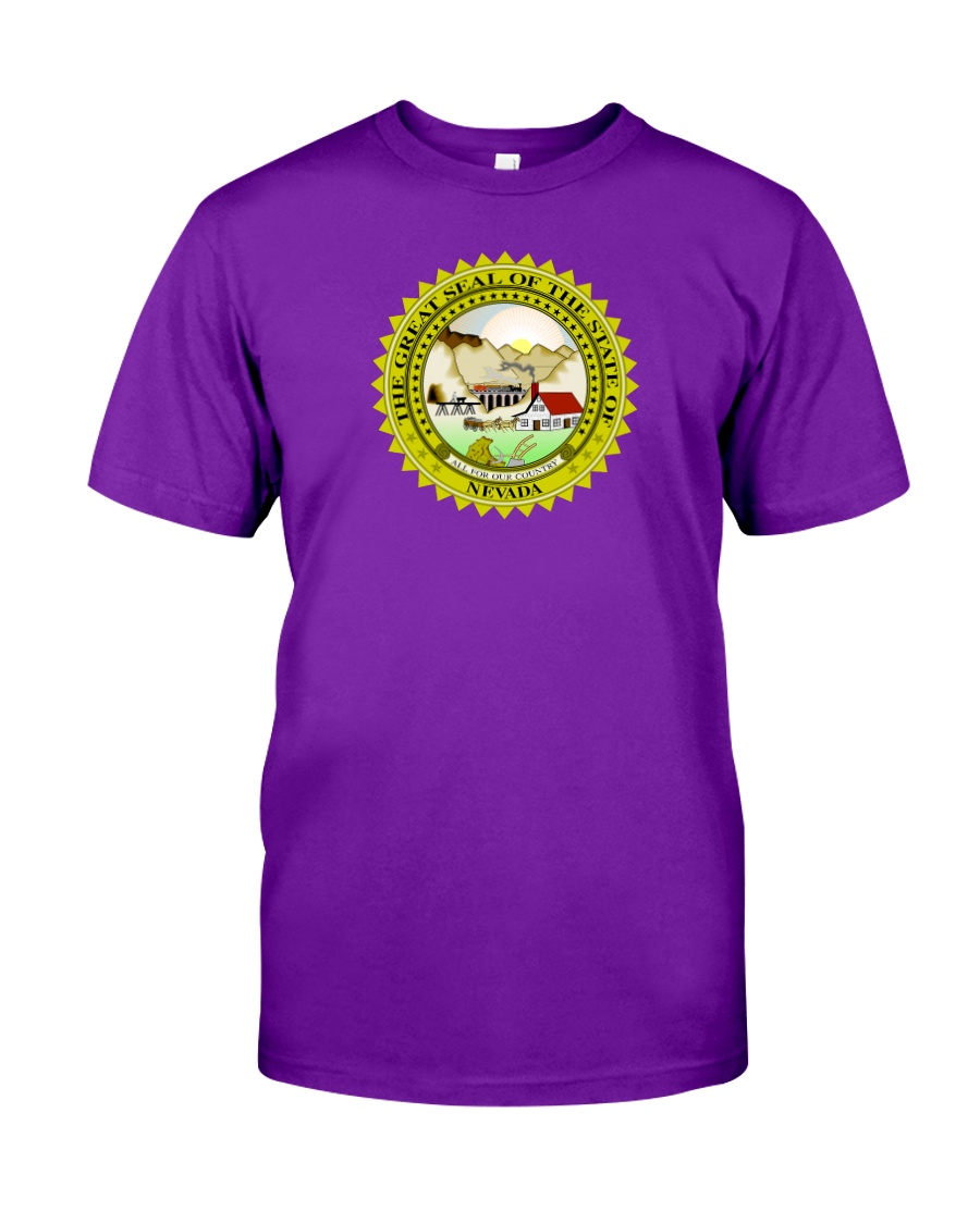 Great Seal of the State of Nevada Classic T-Shirt