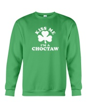 Kiss Me I'm a Choctaw Crewneck Sweatshirt thumbnail