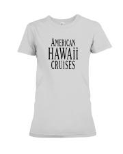 American Hawaii Cruises Premium Fit Ladies Tee thumbnail